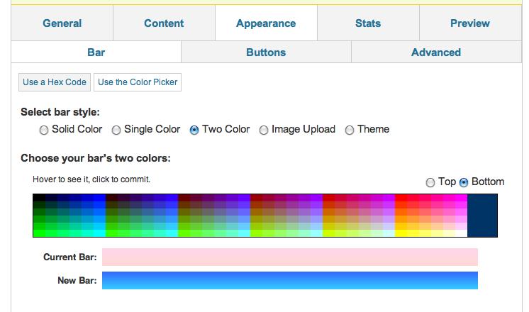 ViperBar Color Scheme