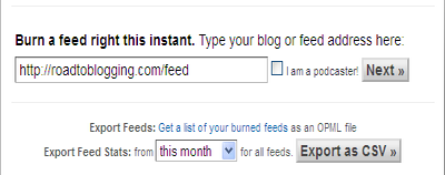 Your Feed URL