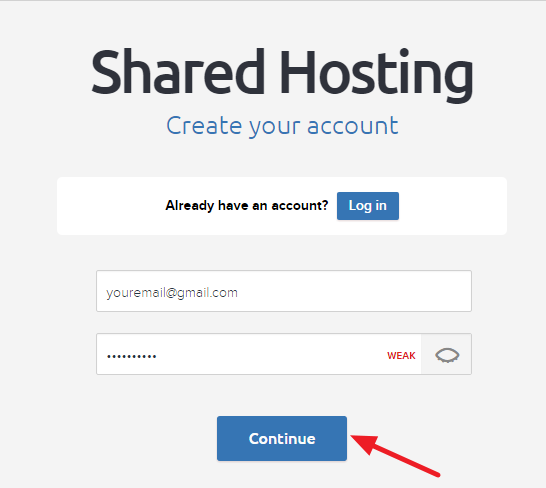 Dreamhost Shared Hosting Account