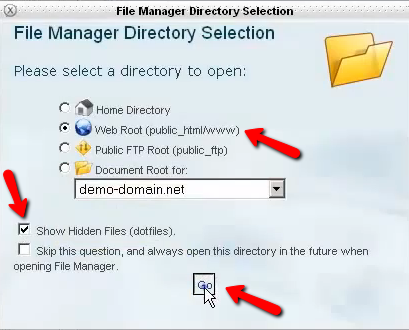 File Manager Directory Se