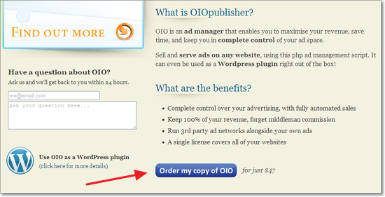 Order OIO Publisher
