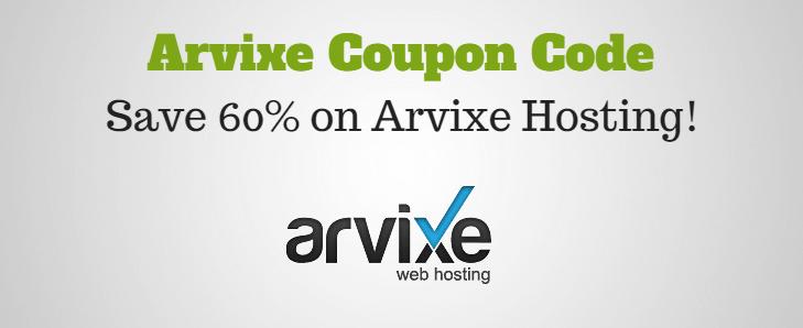 Arvixe Coupon Code
