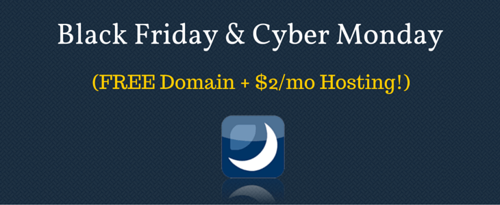 Dreamhost Black Friday Cyber Monday Deal