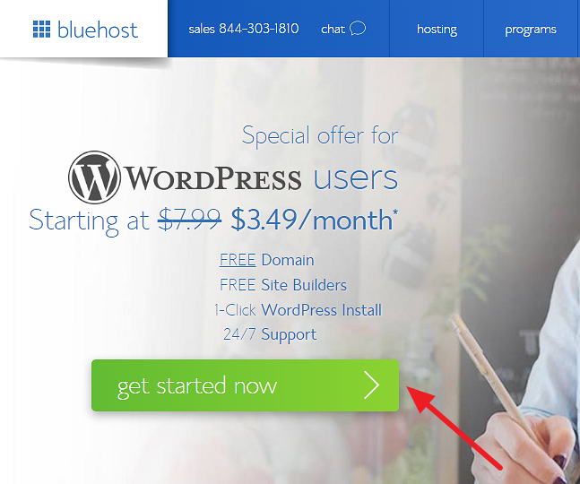 Bluehost Discount for WordPress Users