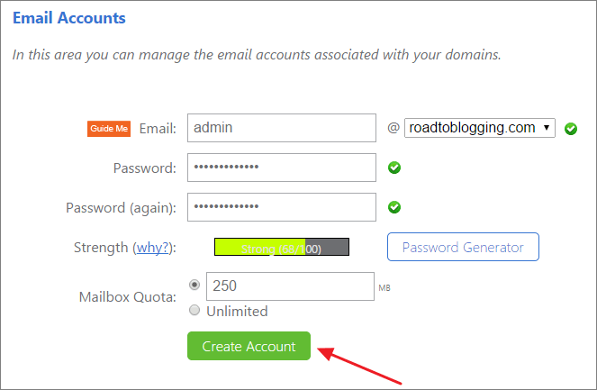 How To Create A Free Email Account With Own Domain Name