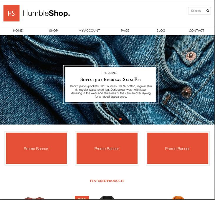 HumbleShop WordPress Theme