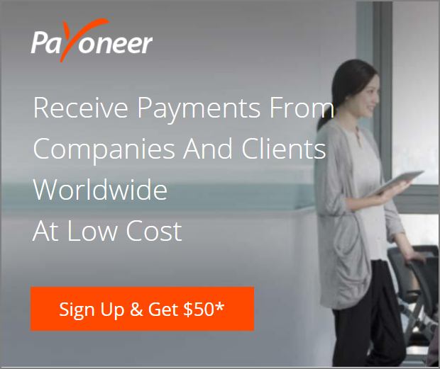 how to get payoneer card