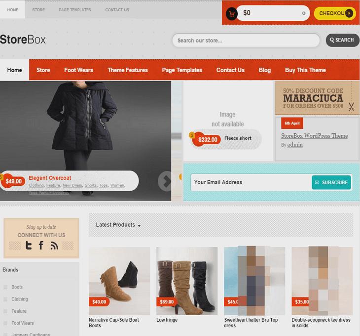 StoreBox WordPress Theme