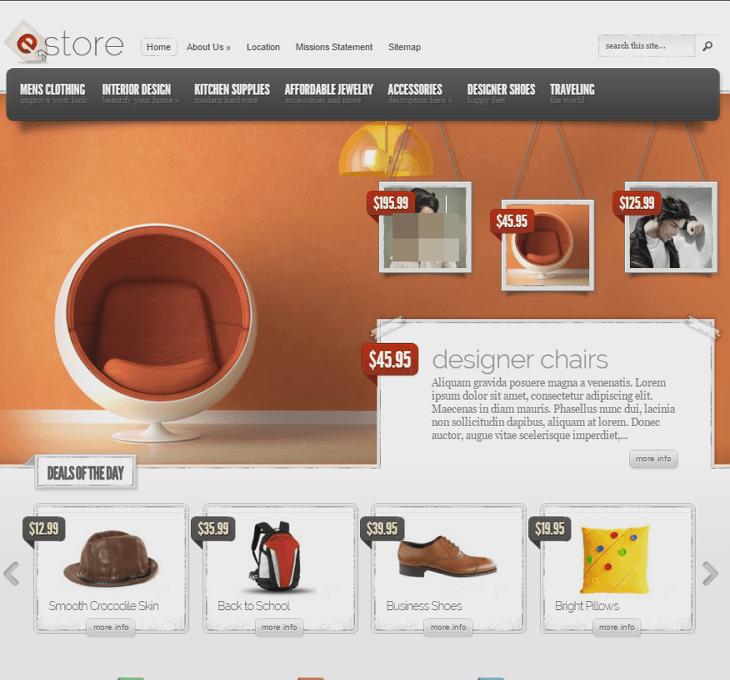 eStore WordPress Theme
