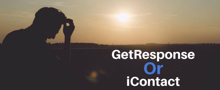 GetResponse Vs iContact
