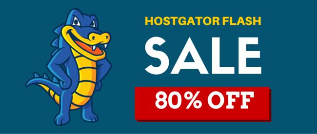 HostGator Flash Sale