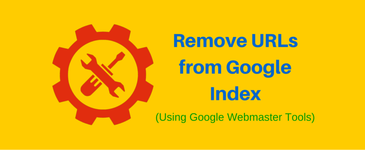 Remove URLs from Google Index