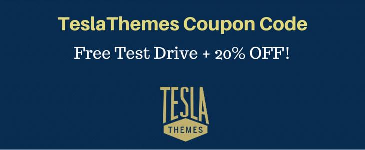 TeslaThemes Coupon Code