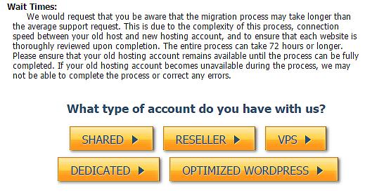 HostGator hosting type