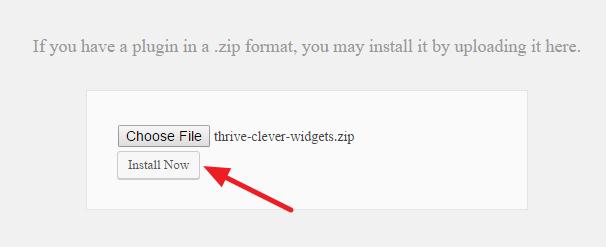 Install Downloaded Plugin