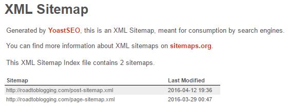 RTB XML Sitemap