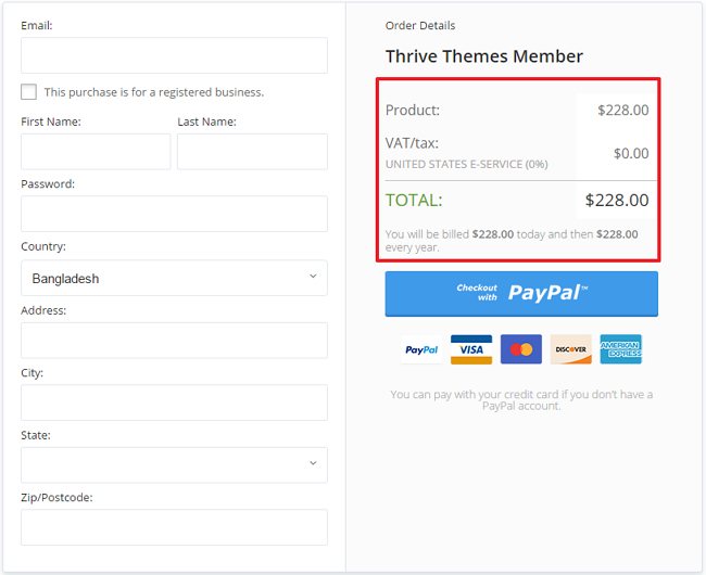 Thrive Themes Membership Discount