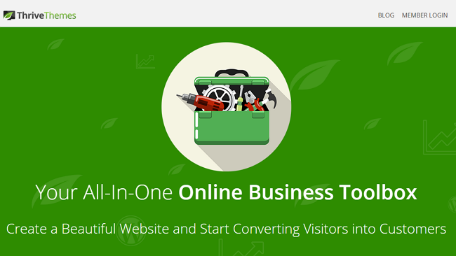 Thrive Themes Membership Page
