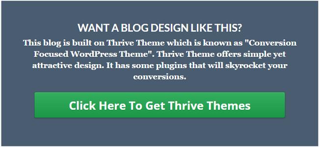 Thrive Theme Focus Area