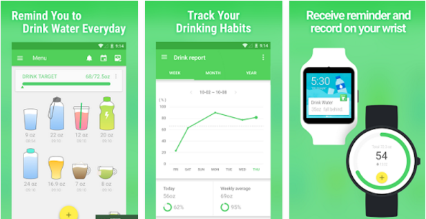 Water Drink Reminder Android App