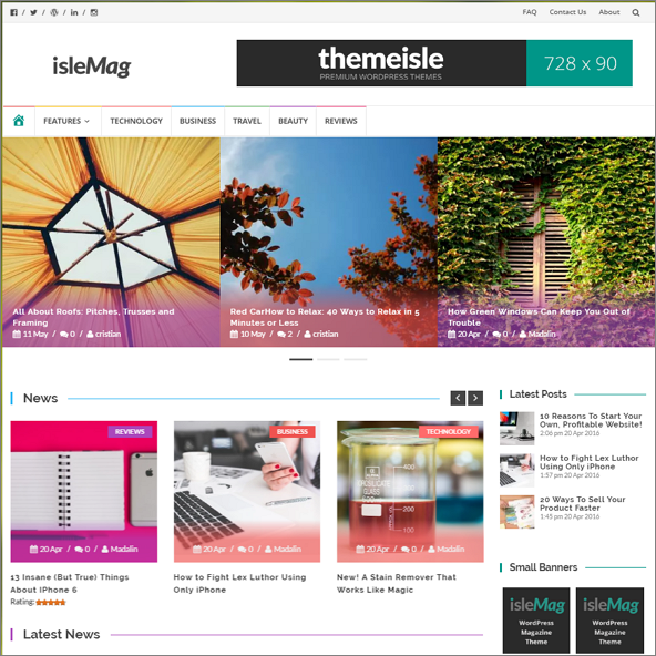 isleMag by Themeisle