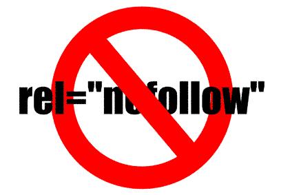 External Links as Nofollow