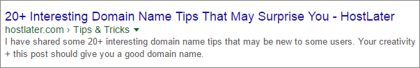 Breadcrumbs in Google Search Results