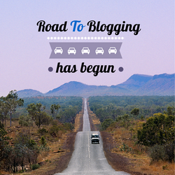 road to blogging