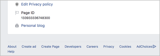 How To Find A Facebook Page/Profile ID In 3 Simple Ways 3