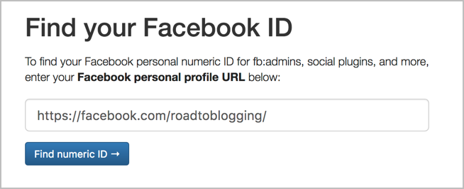 How To Find A Facebook Page/Profile ID In 3 Simple Ways 5