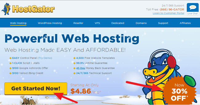 How to Sign Up for Hostgator Hosting for Just $0.01! [Tutorial] 1