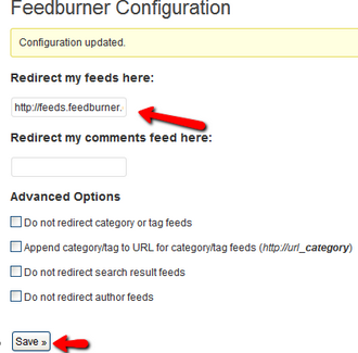 FeedBurner_Configuration