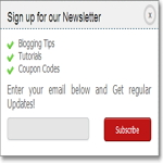 Alternative of Popup Subscription Form