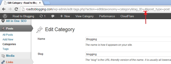 WordPress Category and Tag ID