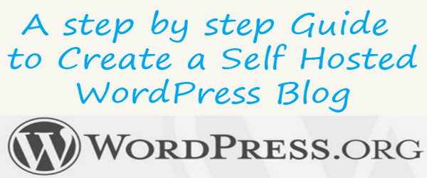 Create self hosted wordpress blog