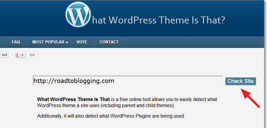 What WordPress Theme Is That
