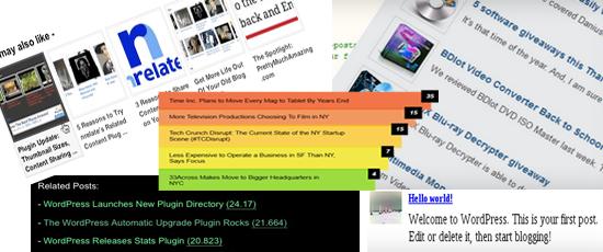 WordPress Related Posts Plugins