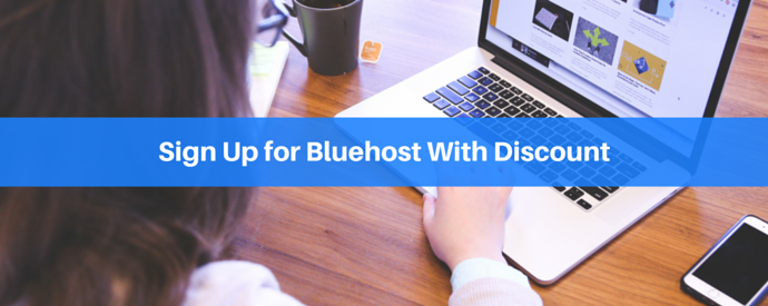 Sign Up for Bluehost With Discount