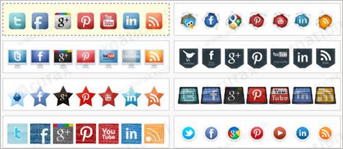 Acurax Social Media Widget