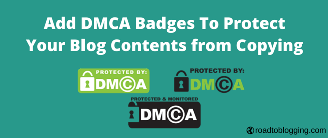 Add DMCA Badge to WordPress