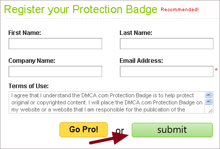 DMCA Protection Page