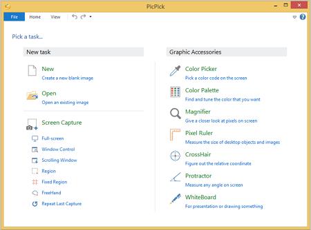 PicPick Screenshot tool
