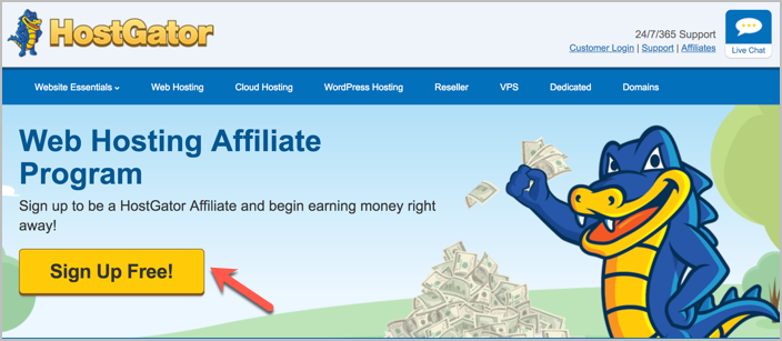HostGator Affiliate Program Review: How You Can Make $1000+/Month! 3