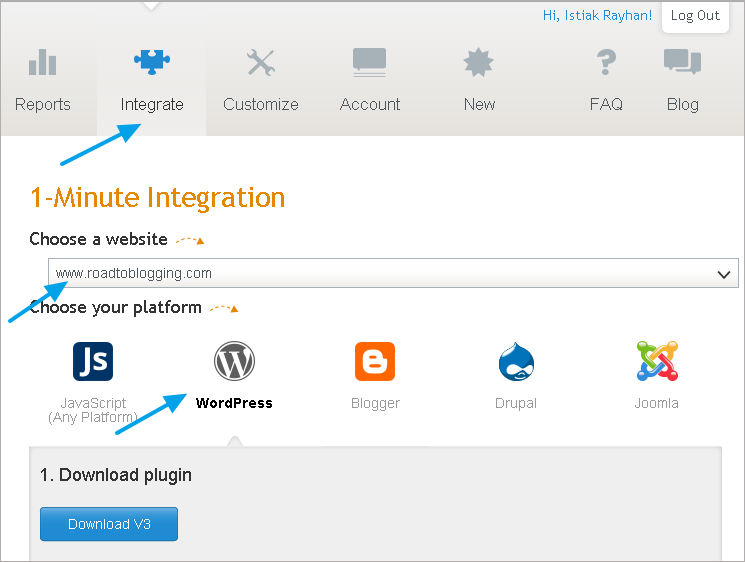 infolinks integration