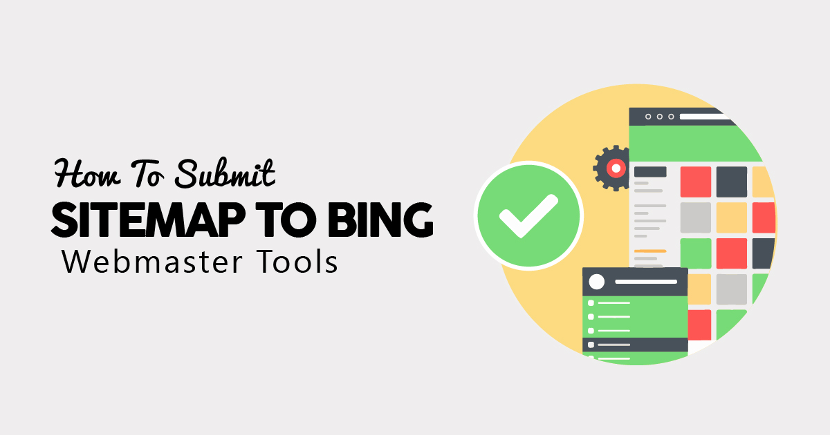 how to submit sitemap to bing webmaster tools in 2019