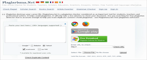Top 7 Free Duplicate Content Checker Tools On The Web 4