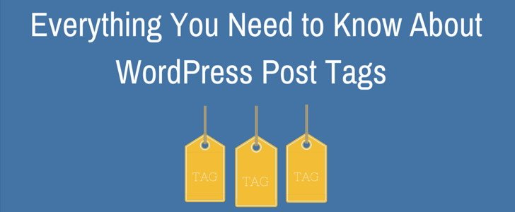 WordPress Post Tags