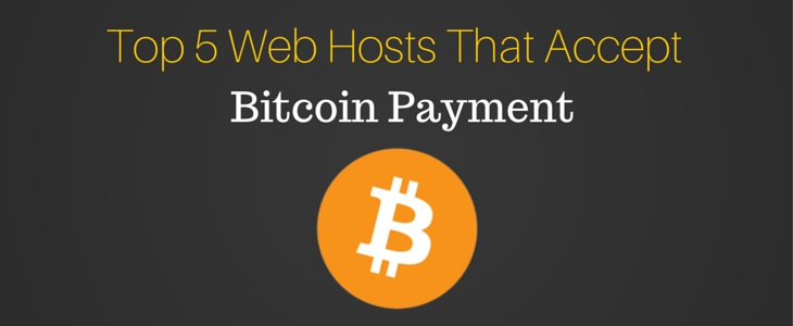 Bitcoin Webhosting