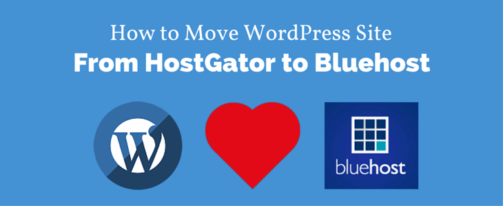 Move WordPress Site HostGator to Bluehost