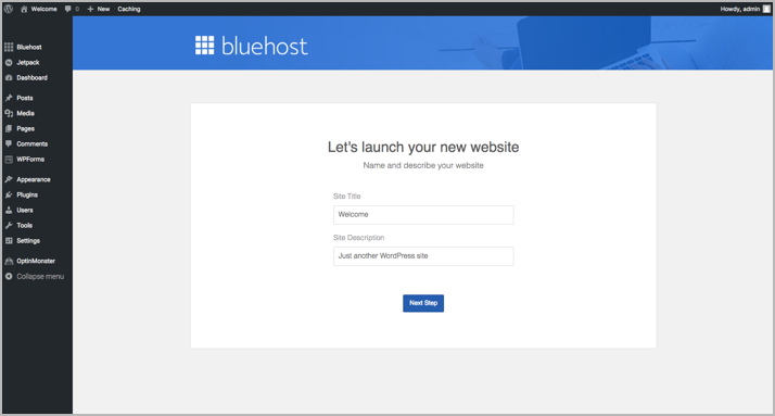 How to Start A WordPress Blog On Bluehost 12